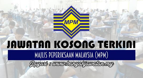 Jawatan Kosong Di Majlis Peperiksaan Malaysia Mpm 19 Oktober 2017 Banyak Jawatan